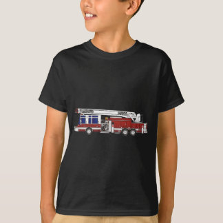 Ladder Fire Truck T-Shirt
