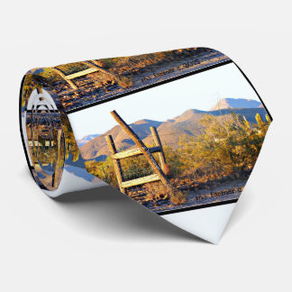 Ladder into New River Mts. Men's Tie