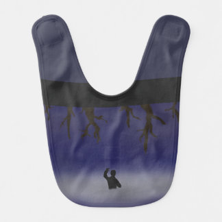 Ladder Into The Clouds Baby Bib