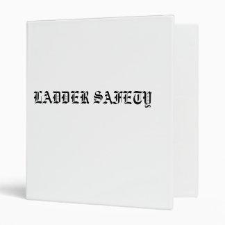 LADDER SAFETY BINDER