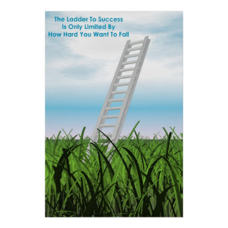 Ladder To Success Poster