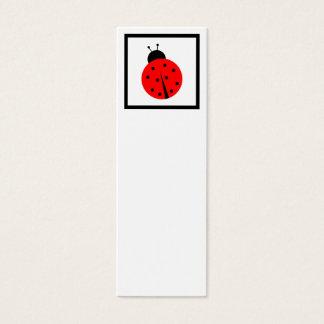 Ladiebug Bookmark Mini Business Card