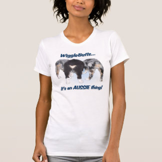 Ladies Australian Shepherd T-Shirt