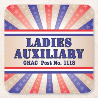 Ladies Auxiliary Patriotic Coasters