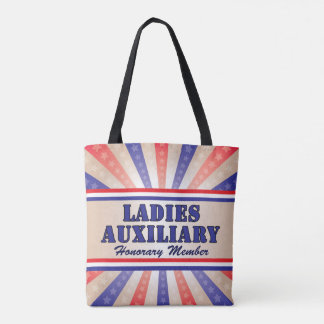 Ladies Auxiliary Patriotic Tote Bag Andy Mathis