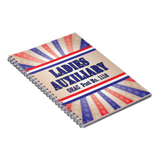 Ladies Auxiliary Photo Notebook