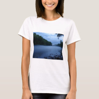 Ladies Baby Doll (Fitted)-Chattahoochee River Mist T-Shirt