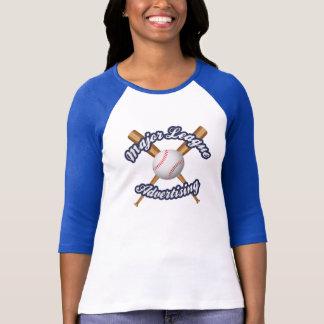 Ladies Baseball Style T-Shirt