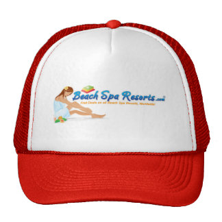 Ladies Beach Spa Resorts Cap Trucker Hat