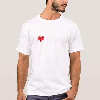 Ladies Black I Heart Faces T-Shirt