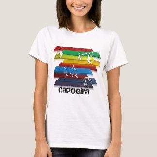 ladies capoeira martial arts rainbow T-Shirt