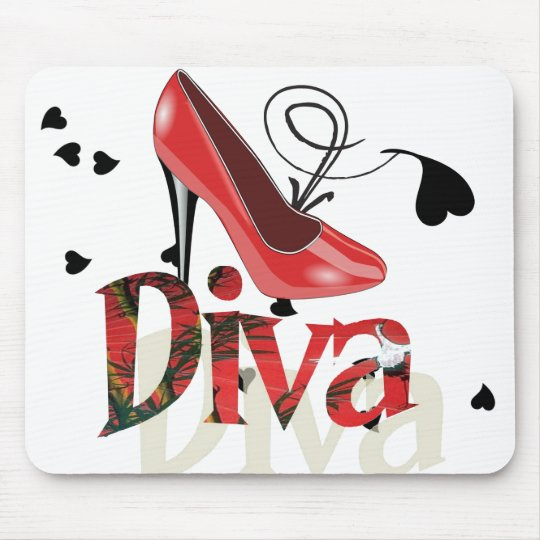 Ladies Diva Mousepad