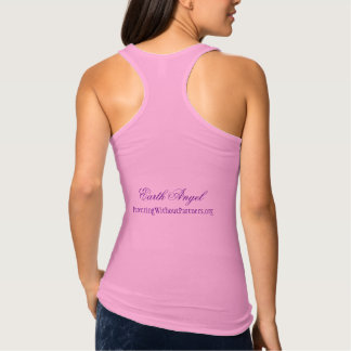 Ladies Earth Angel Single Mums Singlet Top