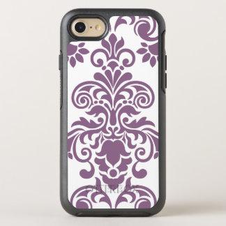 Ladies Elegant Damask Pattern OtterBox Symmetry iPhone 7 Case