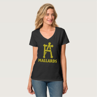 Ladies FA Mallards V-Neck T-Shirt