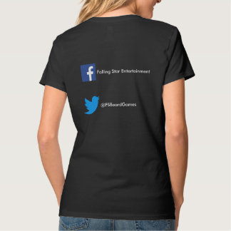 Ladies Falling Star T shirt