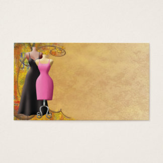 Ladies Fashion Clothing Business Card