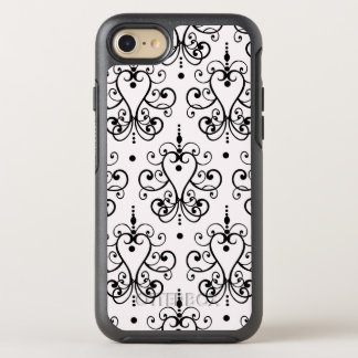 Ladies Floral Damask OtterBox Symmetry iPhone 8/7 Case