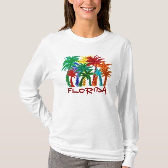 Ladies Florida palm tree hoodie