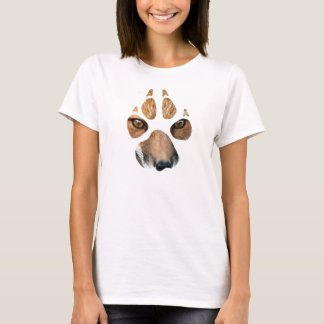Ladies fox paw tee