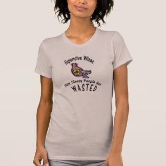 Ladies Funny Wine Tee Shirt
