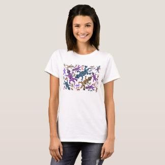 Ladies Gecko Design Tshirt