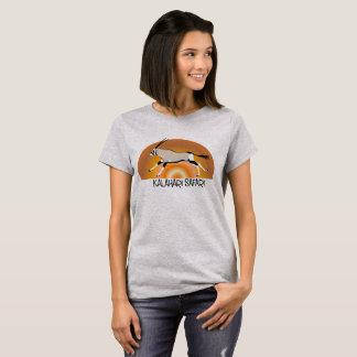 Ladies Gemsbok/Oryx Kalahari design tshirt