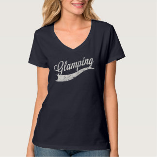 "Ladies ""Glamping"" T-Shirt"
