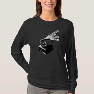 Ladies Gramophone Long Sleeve Shirt