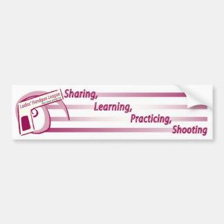 Ladies Handgun League Bumper Sticker