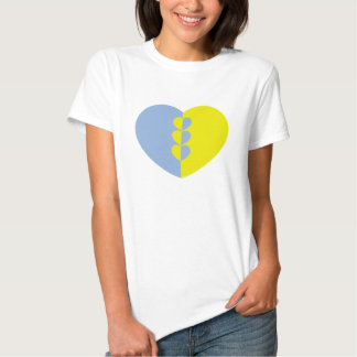 Ladies heart shirt