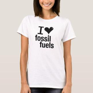Ladies'  I Love Fossil Fuels T-Shirt