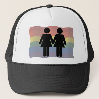 Ladies in love trucker hat