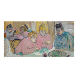 Ladies in the Dining Room by Toulouse-Lautrec Picture Card
