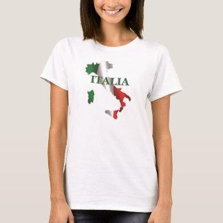 Ladies Italia Map T-Shirt