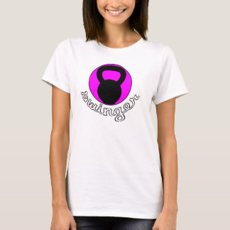 "Ladies Kettlebell ""Swinger"" T-shirt"