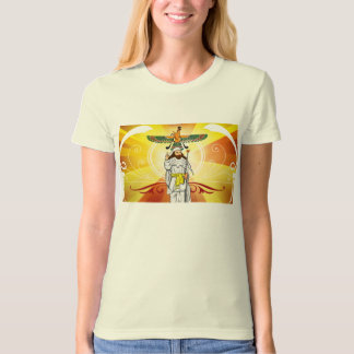 Ladies Light of Ahura Mazda Organic Tee
