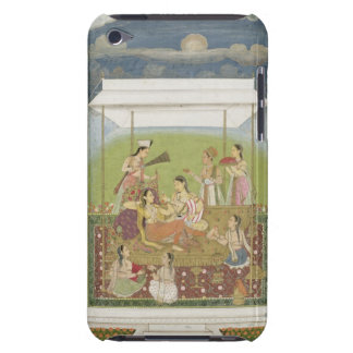 Ladies listening to music in a garden, from the Sm Barely There iPod Cover