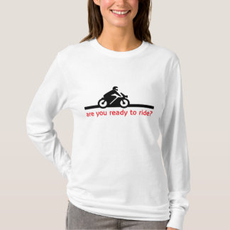 Ladies Long Sleeve Cotton T-Shirt