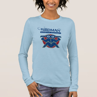 Ladies Long Sleeve (Fitted) - Birdman Brewing Long Sleeve T-Shirt