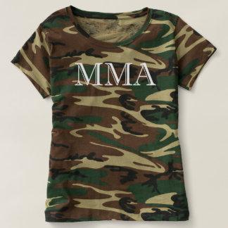 Ladies MMA Camo Shirt