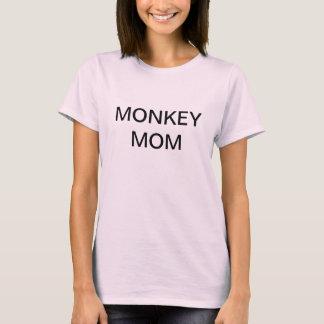Ladies Monkey Mom t-shirt