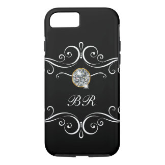 Ladies Monogram Bling iPhone 8/7 Case