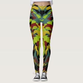 Ladies multi colored customized leggings