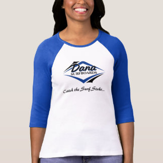 Ladies Navy Baseball Shirt