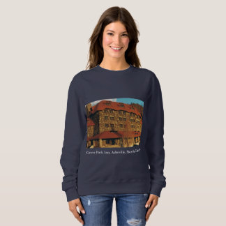 Ladies' Navy Blue Grove Park Inn Sweatshirt