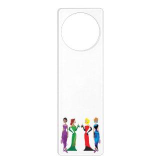 Ladies' Night Door Hanger