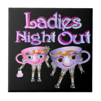 Ladies Night Out by Valxart.com Tiles