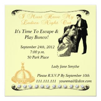 Ladies Night Out Invitation