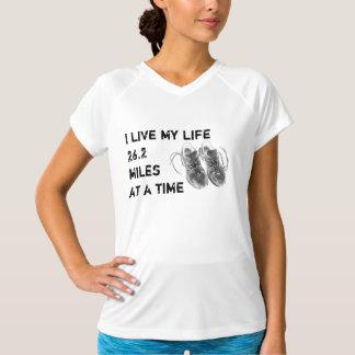 Ladies' no-sleeve Wicking - Life 26.2 miles Tee Shirts